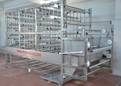 Dough Irrigation And Drying Machine